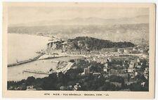 France - Nice, Vue Générale - 1920's postcard