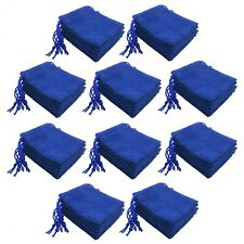 50Pcs Velvet Cloth Jewelry Pouches Drawstring Bags Wedding Xmas Favor Pouch