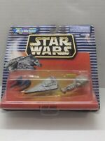 Star Wars Set I Micro Machines imperial star destroyer & 2 More Galoob 1997 New