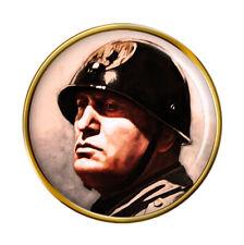 Benito Mussolini Pin Insignia