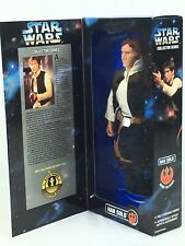"""Star Wars Han Solo 12"""" Inch Doll Figure Collector Series Hasbro 2775 Kenner 1996"""