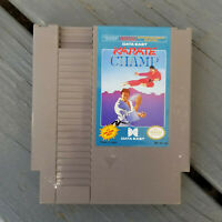 Karate Champ - Class Original Authentic Nintendo NES Video Game FAST SHIP