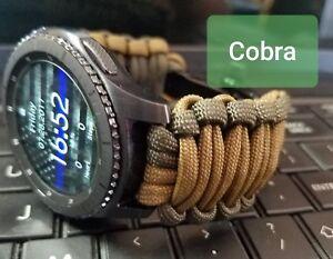 Samsung Galaxy Smart watches Paracord Watch Band Standard