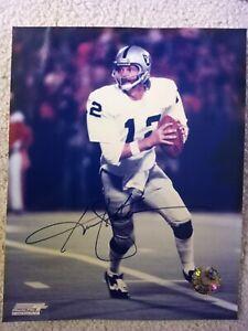 Ken Stabler Oakland Raiders Autographed Photo 8x10
