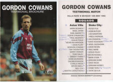 Aston Villa Home Team Pre-Season/Friendly Football Programmes