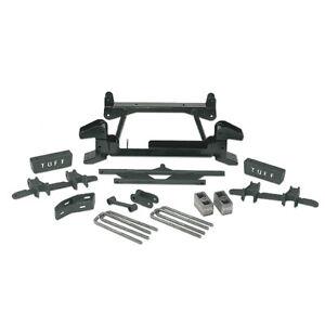 "88-97 GM 2500/3500 4WD (8 LUG) TUFF COUNTRY EZ-RIDE 6"" LIFT KIT W/O AUTOTRAC."