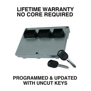 Engine Computer Programmed with Keys 2003 Lincoln Navigator 3L7A-12A650-DB DPU1