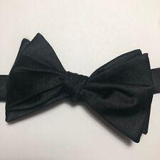 Ted Baker Men/'s Cotton Silk Plain Bow Tie navy blue