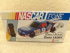 New 1990's NASCAR Columbia Tel-Com Phone Telephone Bill Elliott Fone Coors Light