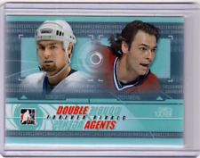 DARCY TUCKER 12/13 ITG Forever Rivals Double Agents #DAG-01 Insert Hockey Card