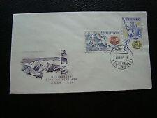 TCHECOSLOVAQUIE -  enveloppe 20/1/1964 (cy71)