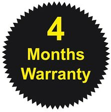 41mm Starburst - 4 Months Warranty Stickers - Various Pack Sizes Available