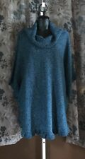 Nwt! Women's 2X Sweater Blue Julian Studio Works