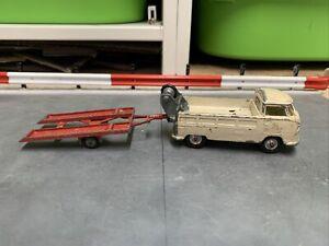 Corgi VW Breakdown Truck Racing Club WITH TRAILER FOR RESTORATION