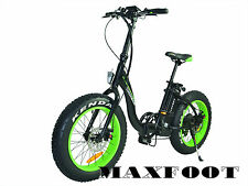 Addmotor Maxfoot Electric Bicycle Bike 48V 500W Fat Tire Foldable E-Bike MF28