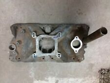 Edelbrock torker Intake manifold 2725 aluminum sbc Chevrolet Chevy 4 barrel