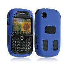 Housse étui coque pour Blackberry Curve 8520 couleur bleu + Film de protection