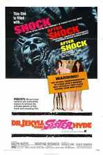 Dr Jekyll And Sister Hyde Poster 01 A4 10x8 Photo Print