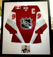 Wayne Gretzky autographed signed 1999 All-Star Game authentic CCM jersey FRAMED