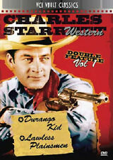 Charles Starrett Double Feature Vol. 1 Durango Kid (1940) Lawless Plainsmen 1942