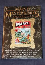 MARVEL MASTERWORKS #149 MARVEL MYSTERY COMICS 17-20 VARIANT VOL #5 HC GOLDEN AGE