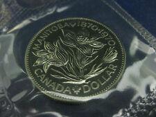 1970 $1 Uncirculated Canadian Nickel Dollar - Celebrating Manitoba's Centennial