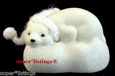 Dept. 56 Snowbabies Animal Bear Cub Resting Retired 2012 NIB 4027585