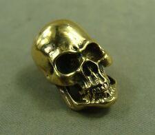 Solid Brass Leather craft Skull rivet stud Punk screw bag wallet Conchos decor