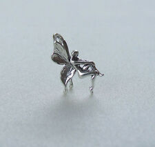 FAIRY PIXIE ELF 3D CHARM 925 STERLING SILVER