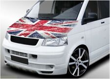 VW Volkswagen Transporter bonnet wrap 702 printed vinyl sticker Union Jack T4 T5