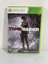 Tomb Raider (Microsoft Xbox 360, 2013) Complete w/ Manual