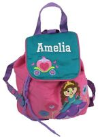 Personalised Childrens Toddler 'Princess' Backpack / Ruck Sack Back To School.