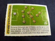 Figurina Calciatori Panini 2002/2003 Aggiornamento schema di gioco CHIEVO VERONA