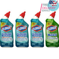 Toilet Bowl Cleaner with Bleach Variety Pack - 24 Ounces, 4 Pack