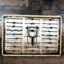 Antique Barbed Wire Display 25 cut's Old Spur Authentic Barbwire Collection