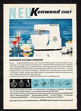 3w861/ Alte Reklame - von 1961 - KENWOOD Küchengeräte - Stuttgart
