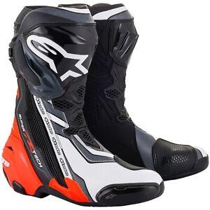 Alpinestars Supertech R 2021 Motorcycle Boots Sport Boots Highend Racing Gp