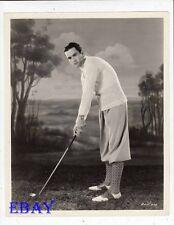 Buddy Rogers plays golf VINTAGE Photo