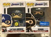 Funko Pop!Marvel AvengersEndgame Ronin Hawkeye #465Captain America FYE Exclusive