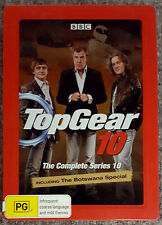 Top Gear - Complete Season 10 (3-Disc Metal Case) DVD EXCELLENT cond. (Region 4)