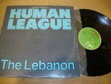The Human League - The Lebanon - 12 inch Single  VG G+