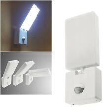 neig & drehbare LED Wand-Lampe mit PIR Bewegungsmelder 230V 15W IP44 Innen Außen