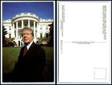 Vintage Postcard - President Jimmy Carter & The White House L22