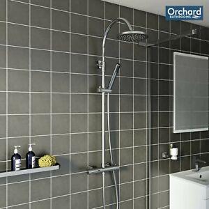 [30% OFF] Orchard Derwent round shower riser system
