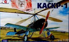 1/72 Aircraft Kaskr-1 Soviet autogyro Amodel 7265 Model kit