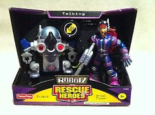 Rescue Heroes Robotz Team Ariel Flyer & E-Ject Factory Sealed!