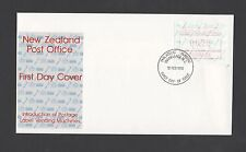 New Zealand 1986 FDC Introduction of Postage Label Vending machines stamp