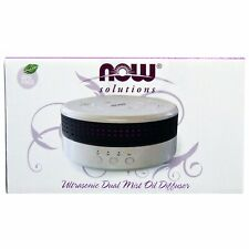 New Now Foods, Solutions, Ultrasonic Dual Mist Oil Diffuser, Free Shipping