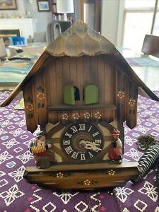 Vintage Wiener Blut Cuckoo Clock-No Pendulum