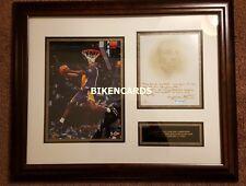 KOBE BRYANT UDA Auto 1/1 AUTOGRAPH rookie MVP exquisite signed DVD NBA Slam Dunk